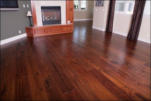 Hardwood Flooring - Hand Scraped