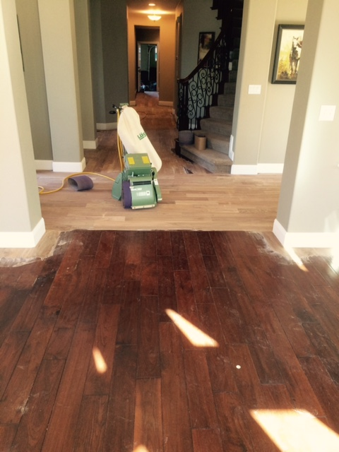 Can you refinish engineered wood floors thefloorsco for Can u refinish engineered hardwood floors