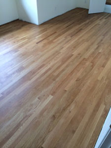 solid floors can be refinished many times